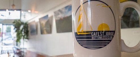 Photos at Cafe St Jorge through mid August